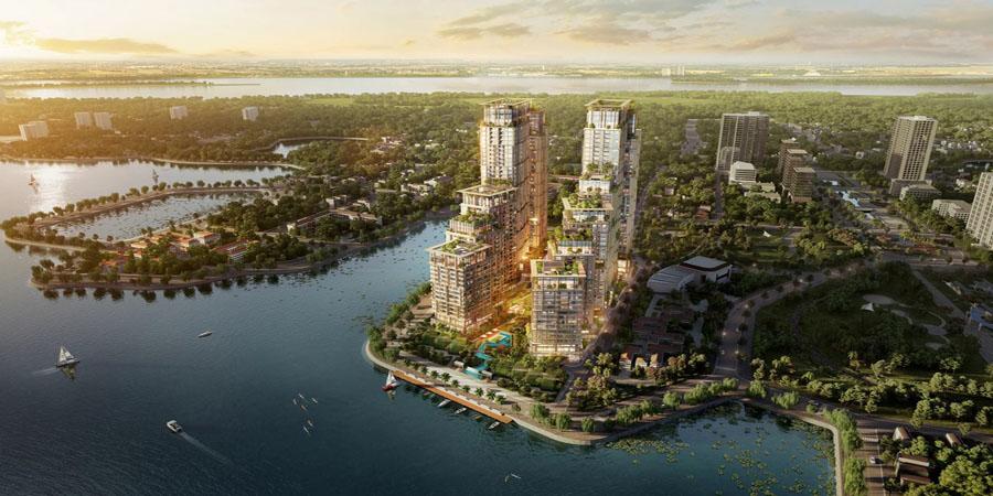 Tiến độ Xây dựng Dự án Sun Group Tây Hồ