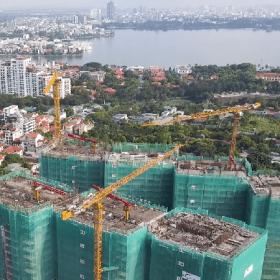 Cập Nhật Tiến độ Xây dựng Dự án Sun Grand City Tây Hồ T6/2021