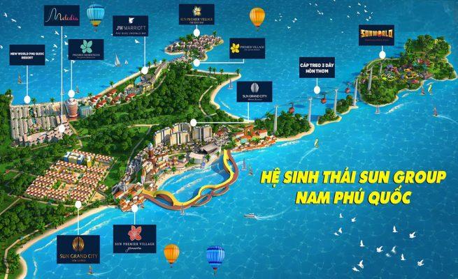 Tiện ích Sun Tropical Village phú quốc